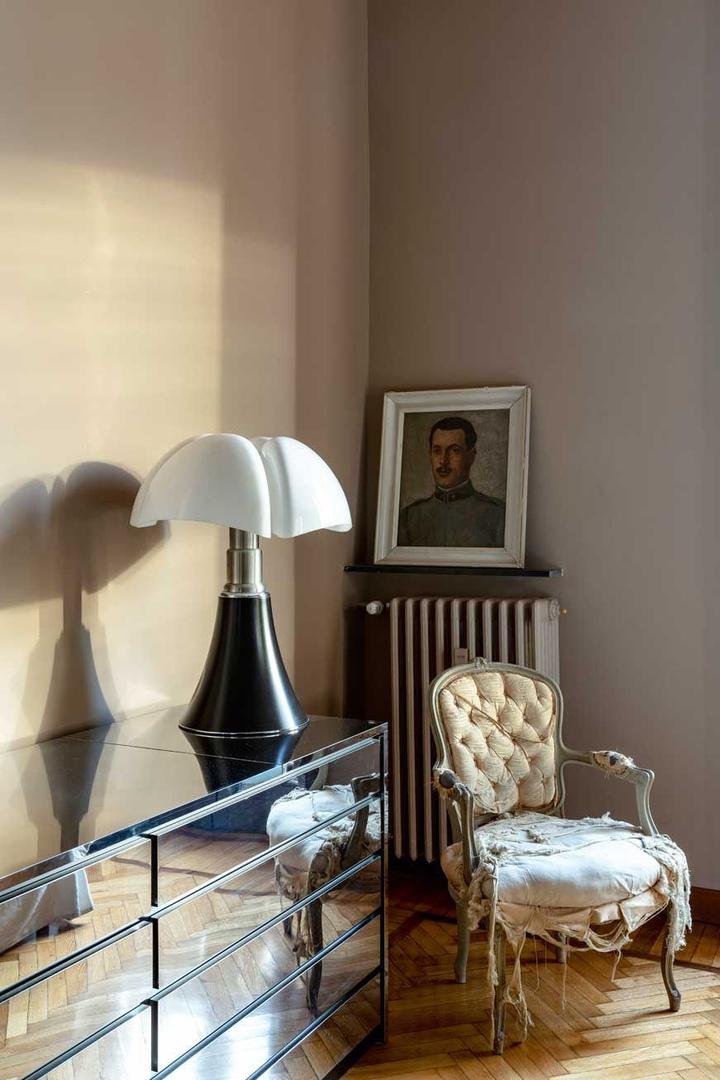 Квартира дизайнера Ханнеса Пира в Милане