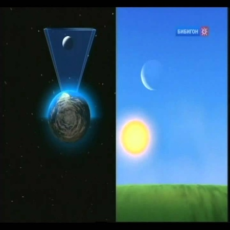 Земля космический корабль (43 Серия) - Убывающая Луна, Солнечное затмение ptvkz rjcvbxtcrbq rjhf,km (43 cthbz) - e,sdf.ofz keyf,