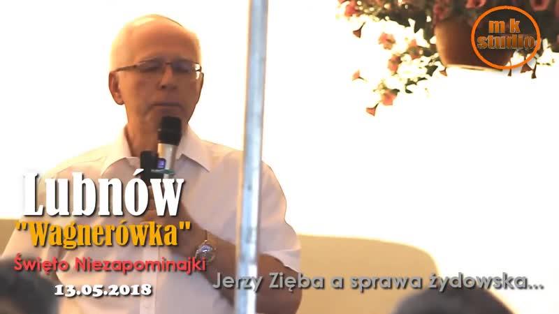 Jerzy Zięba a sprawa żydowska