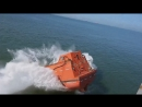 M/v Birk, launch FFB at Point Lisas anchirage 16.10.2014