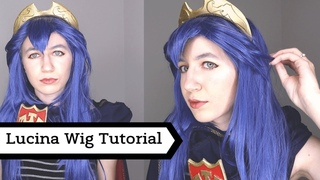 Lucina Cosplay Wig Styling Tutorial - Fire Emblem