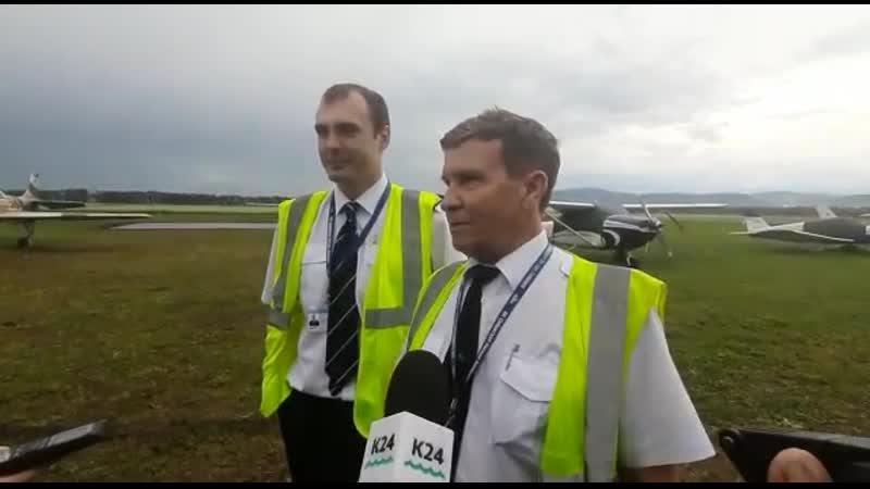 Экипаж рейса из Горно-Алтайска в город-курорт Белокуриху поделился впечатлениями от первого полета ✈️