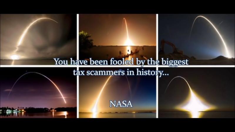 Les Fusées Ne Peuvent Pas Aller Dans L'Espace