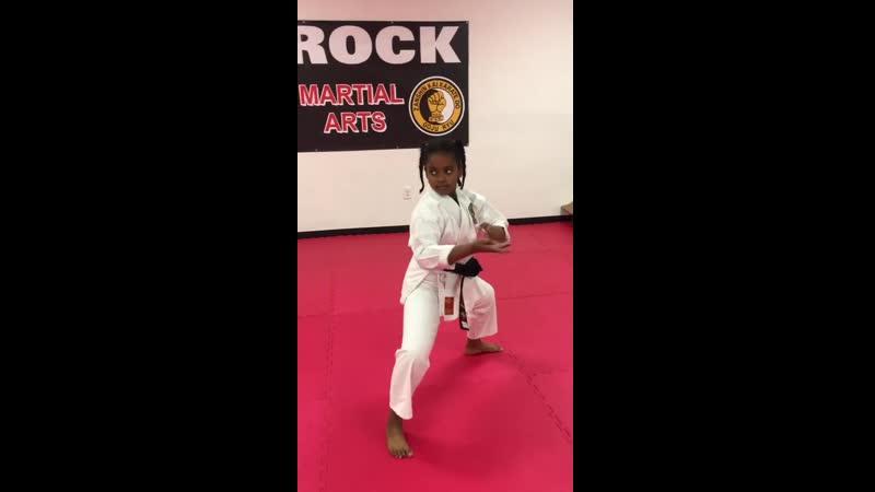 9 Year Old Black Belt_⁄ Gekki Sai Sho - Kyokushin Kata