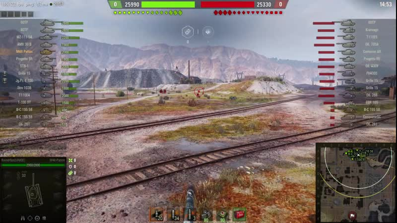 Задание на танке M48A5 Patton от участника группы Сережи Пистолетова