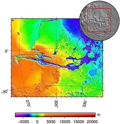 Это то место, откуда начнут расселяться люди на Марсе