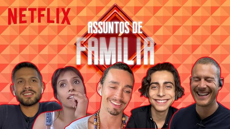Assuntos de Família elenco de The Umbrella Academy opina sobre dramas familiares Netflix Brasil