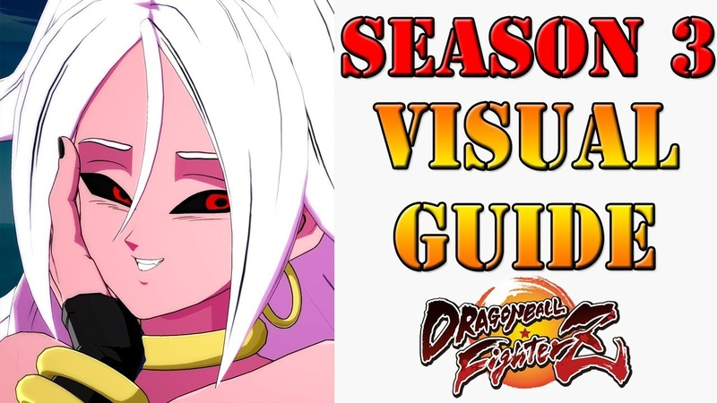 Dragon Ball FighterZ Visual Guide to the big changes in Season 3 DBFZ