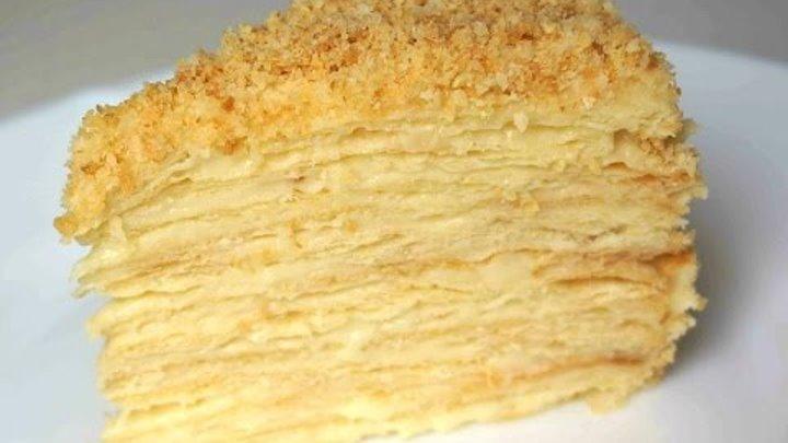 Классический Торт Наполеон рецепт приготовления Рецепт MasterVkusa