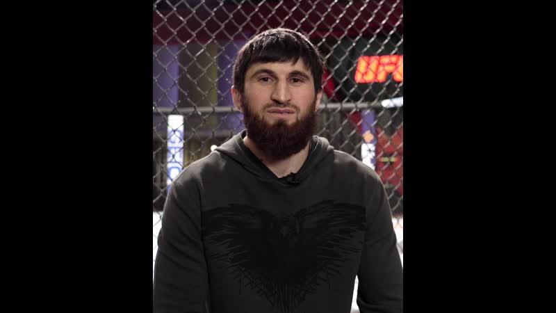 Магомед Анкалаев - интервью перед боем с Крыловым