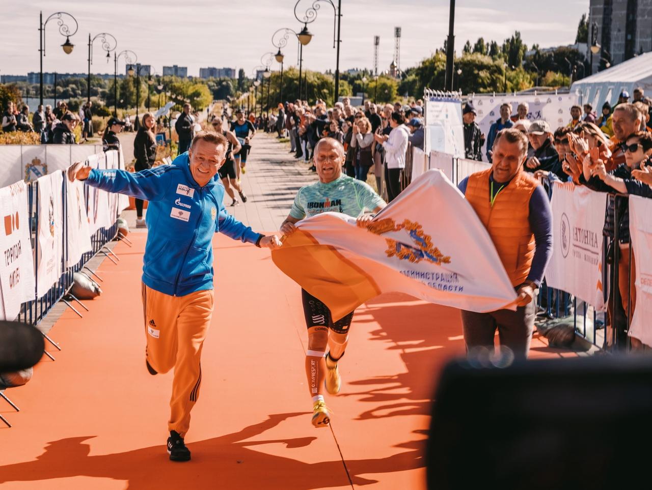 В Курской области во второй раз прошли соревнования по триатлону «Спринт»