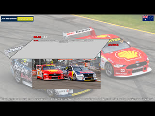 Virgin Australia Supercars Championship: Robson Civil Projects Townsville SuperSprint, Гонка 3,  [A21 Network]