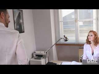 DDFNetwork Lenina Crowne - Sexy Secretary Fucks Her Boss