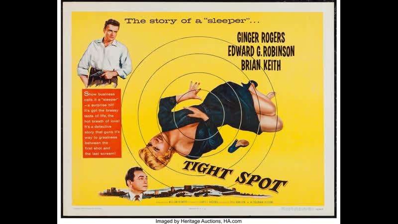 Tight Spot 1955 Ginger Rogers Edward G Robinson Brian Keith