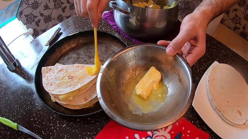 Кыстыбый татарское традиционное блюдо Вкусно быстро недорого Лайфхак с лепешками придумал я