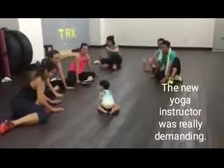 Как вам инструктор по йоге