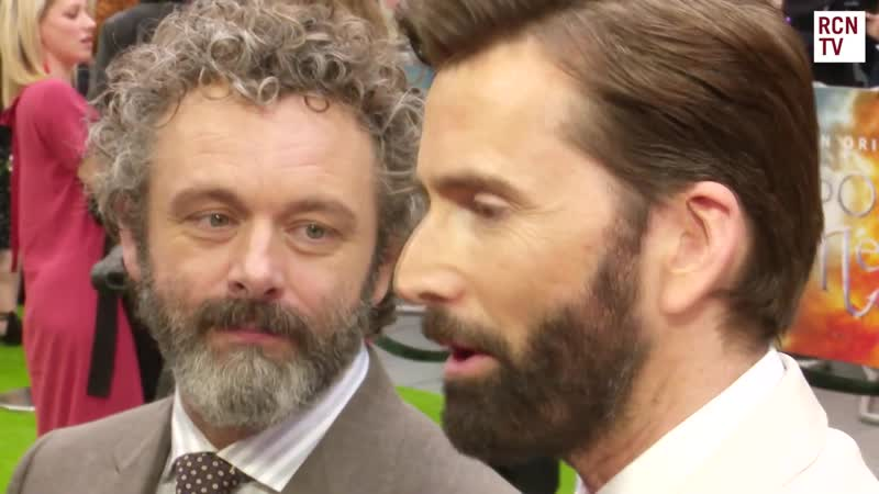 David Tennant and Michael Sheen being fans of each other aka Michael being in love with David