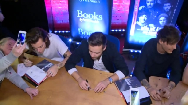 Exclusive: one direction who we are london book signing