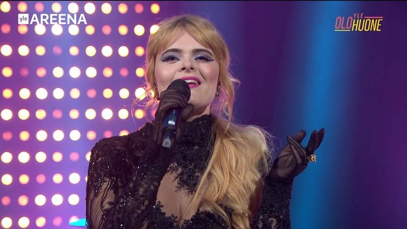 Erika Vikman Cicciolina Yle Olohuone live