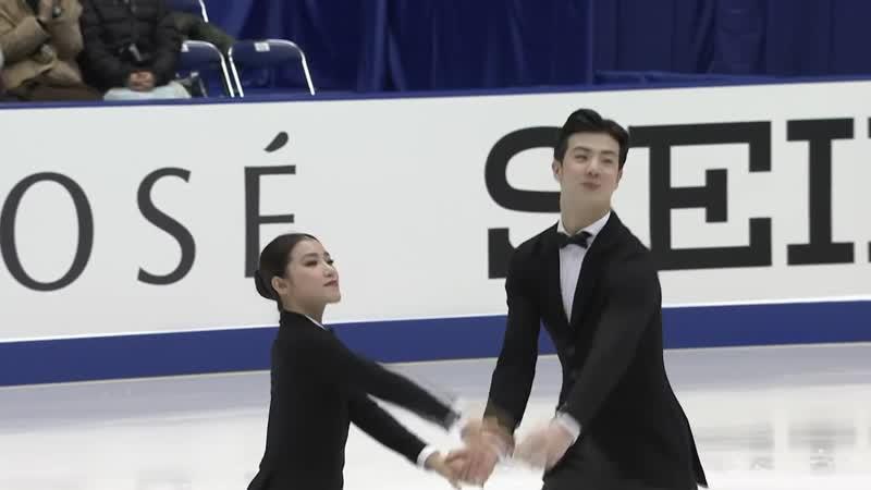 Ice Dance Rhythm Dance NHK Trophy 2019 @GPFigure Full HD