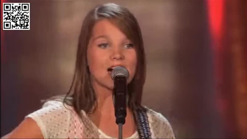 Шоу Голос Kids Голландия Никки с песней Моя милая малышка The Voice Kids Holland 2014 Nikki Sweet Child O 'Mine