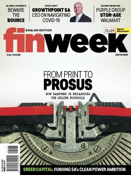 Finweek English Edition - 16 July 2020