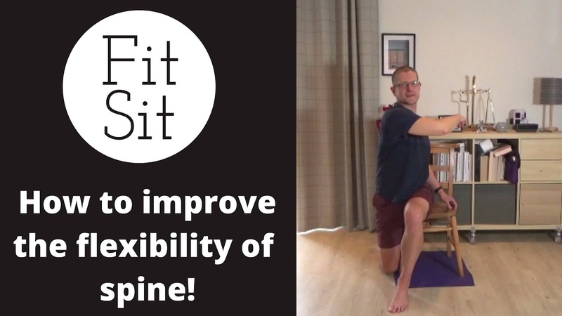 Fit Sit Feldenkrais in a chair how to imrove the flexibility of the spine