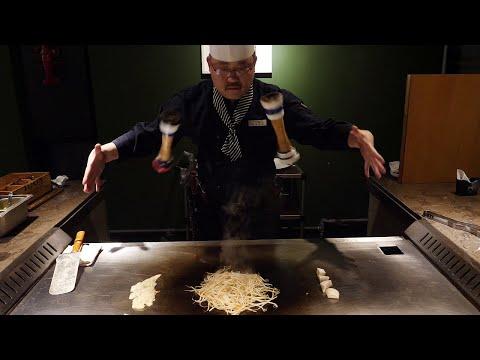 한국에 몇없는 철판 스테이크 달인 amazing skill teppanyaki steak master korean food