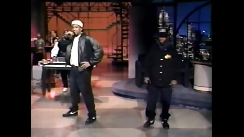 A Tribe Called Quest Check the Rhime Live on Late Show with David Letterman 1993