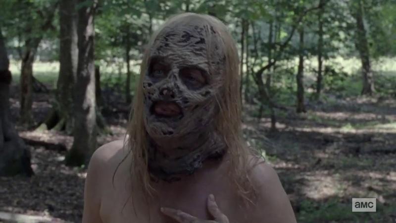 The Walking Dead 10x09 Negan y Alpha Escena Scene