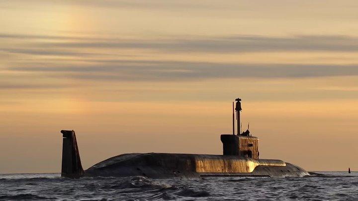 АПЛ Юрий Долгорукий 21 мая 2018 года вышла в море. г. Северодвинск