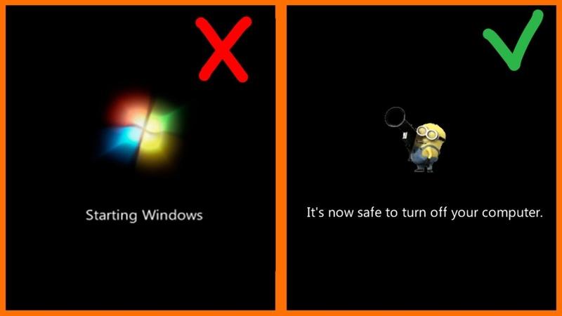 Как сделать свой экран загрузки Windows 7