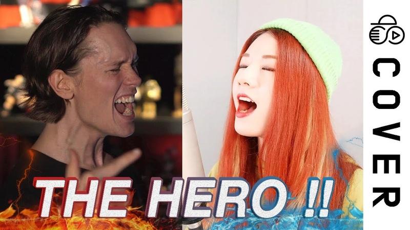 JAM Project THE HERO One Punch Man OP ┃Raon Lee x PelleK