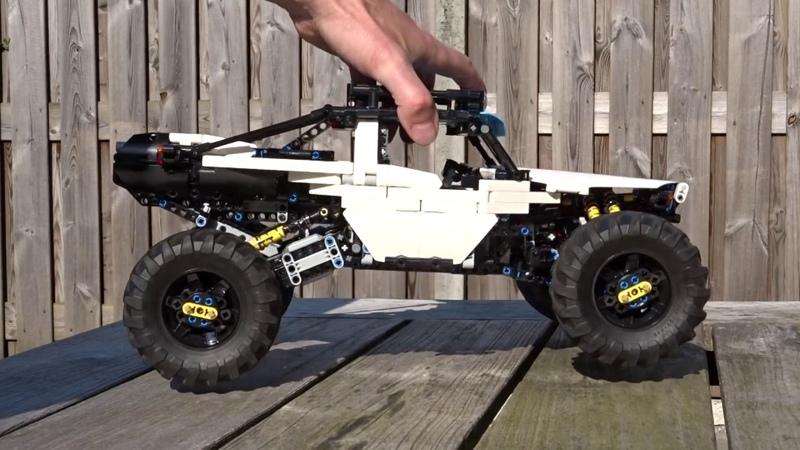 [MOC] LEGO Technic - 4WD RC Buggy - Suspension
