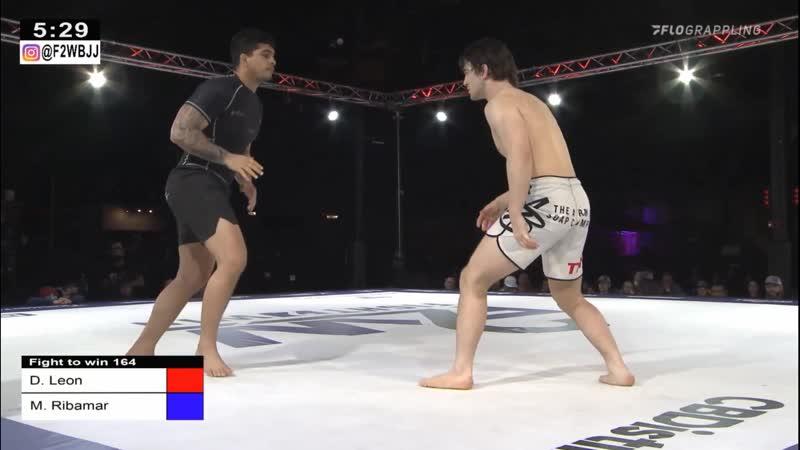 Dante Leon vs Manuel Ribamar f2win 164
