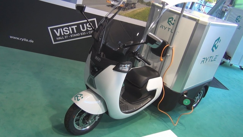 RAP Rytle Cargo Electric Trike 2019 Exterior and Interior