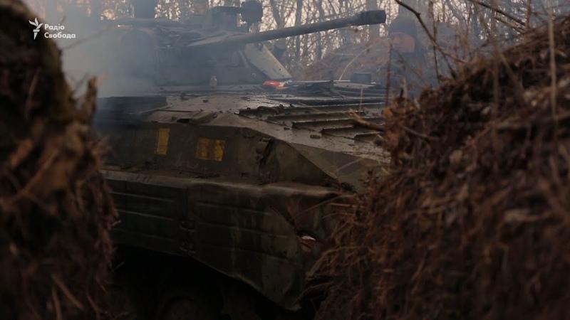 На Донбасі порушено режим тиші – відео бою під Красногорівкою