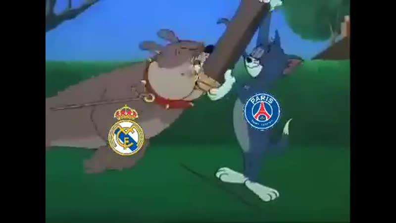 Обзор матча ПСЖ Реал