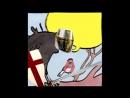 Воробей-мусульманин и ворон-крестоносец