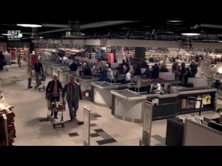 В супермаркете погас свет  и началась настоящая сказка