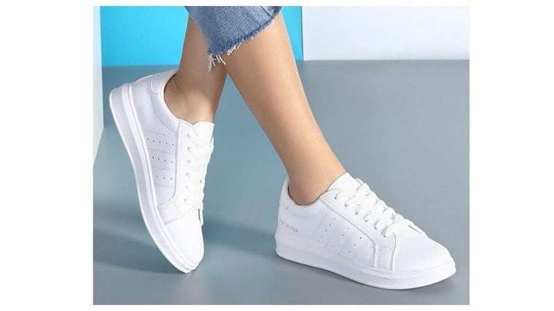 Покупки Одежды с AliExpress - Кеды белые