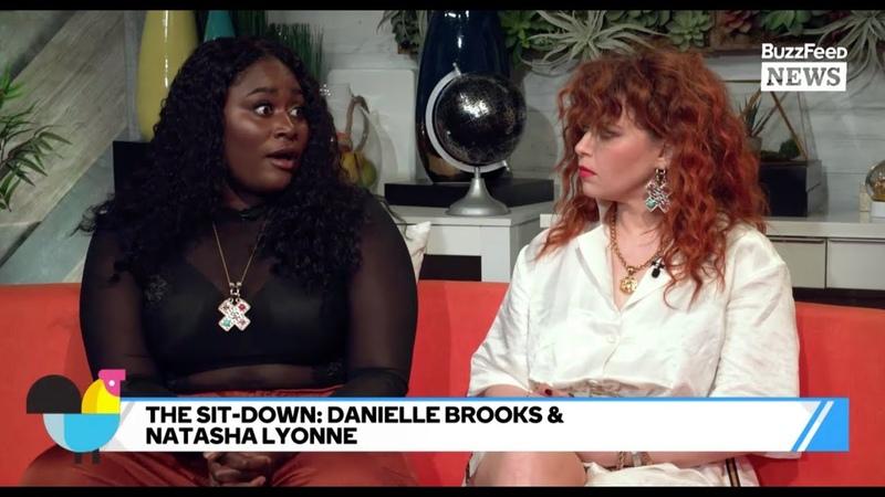 OITNBs Natasha Lyonne And Danielle Brooks Hang Out On Set
