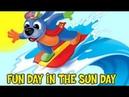 Preschool Song - Fun Day in the Sun Day - The Raggs Band   Preschool Learning Videos
