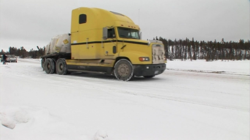 Серия 10. Суровые водилы. Зимники Канады.