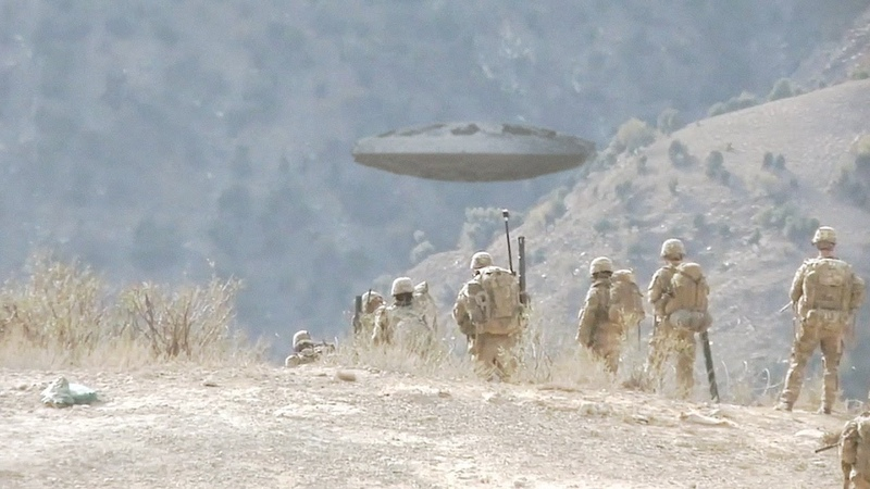 New UFO sighting reported by US Marines in Northern IRAQ June 2018