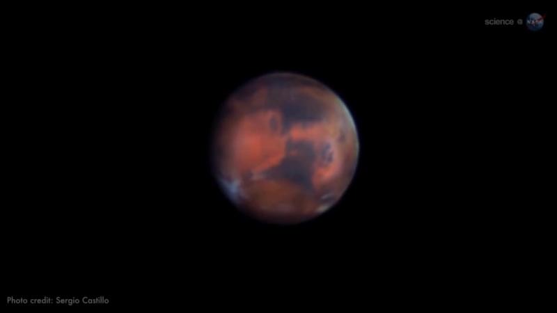Великое противостояние Марса в 2018 году