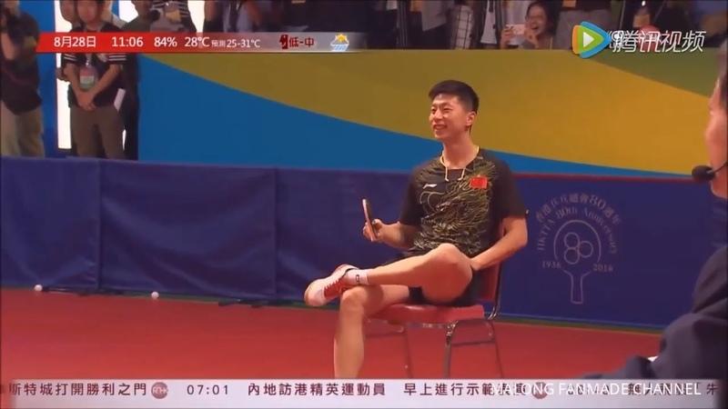 Funny Table Tennis Show - Ma Long, Xu Xin