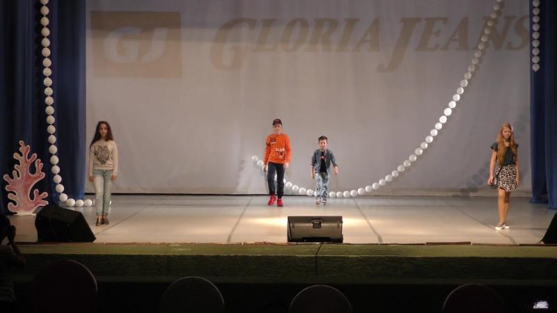 Показ от м-на Gloria Jeans на конкурсе
