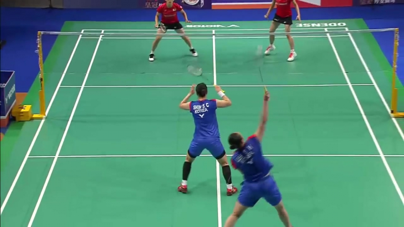 Danisa Denmark Open 2017 - Final WD - Lee-Shin vs Tan-Yon
