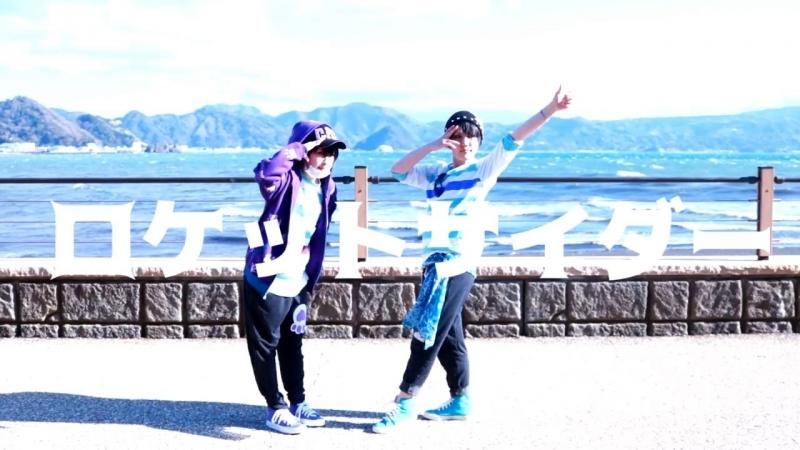 【わんふる】色松でロケットサイダー踊ってみた【おそ松さんコスプレ】 sm32949037